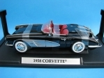 Chevrolet Corvette 1958 black 1:18 Motormax