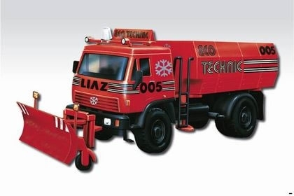 Liaz Eco Technic 1:48 Monti system Vista Semily MS 47