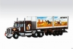 Western Star Intrans Container 1:48 Vista 0107-25