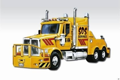 Western Star SOS Service 1:48 Monti system Vista Semily MS 42