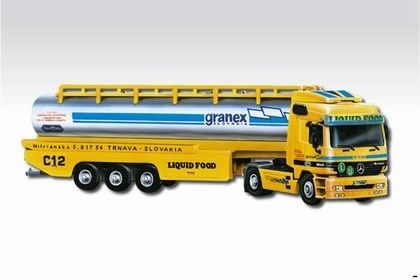 Mercedes-Benz Actros Liquid Food 1:48 Monti system Vista Semily