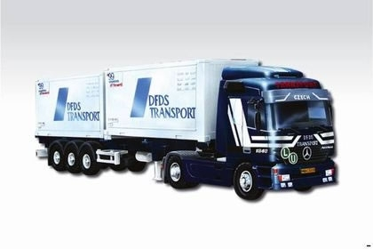 Mercedes-Benz Actros DFDS Transport 1:48 Vista