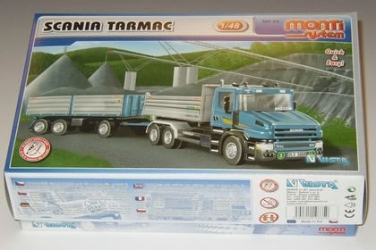 Scania Tarmac 1:48 Monti system Vista Semily MS 65