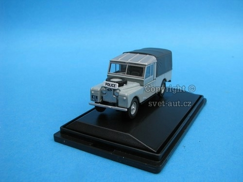 Land Rover 109 Canvas POLICE 1:76 Oxford