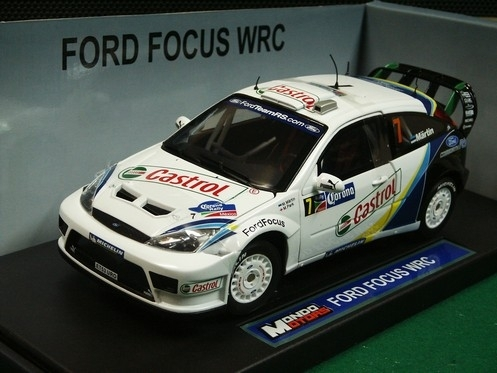 Ford Focus WRC Rally Mexico 2004 No.7 Martin 1:18 Mondo Motors