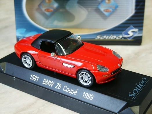 BMW Z8 coupé 1999 Red 1:43 Solido