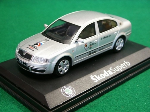 Škoda Superb MS HOKEY 2007 1:43 Abrex