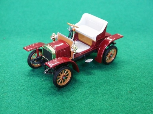 Škoda Laurin a Klement Voiturette 1905  Purple Red 1:43 Abrex