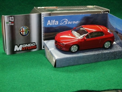 Alfa Romeo Brera red 1:43 Mondo Motors