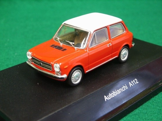 Autobianchi A112 red 1:43 Starline models