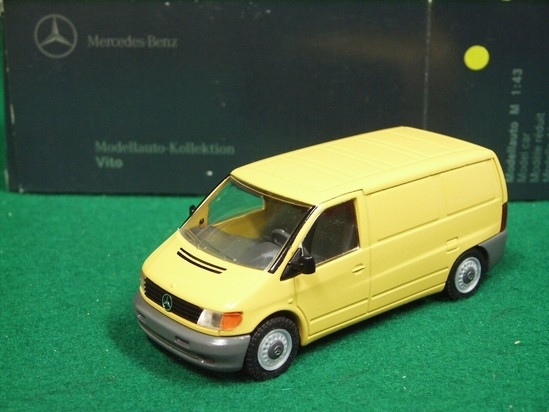 Mercedes Vito Van yellow 1:43 NZG
