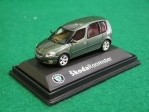 Škoda Roomster HH olive green 1:72 Abrex