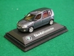 Škoda Roomster CF antracit gray 1:72 Abrex