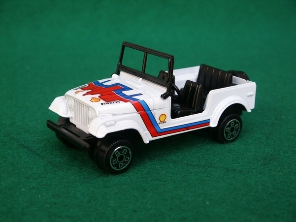 Jeep American Of Road white 1:43 Bburago Italy