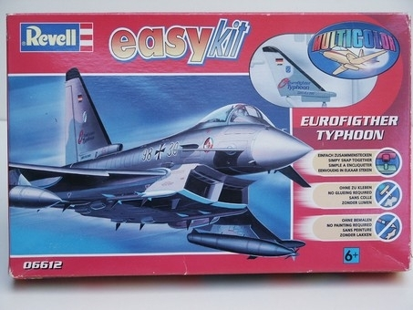 Letadlo Eurofighter Tyfon 1:100 easy kit Revell
