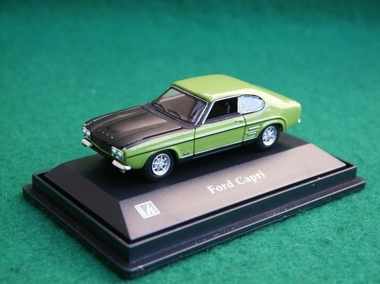 Ford Capri green 1:72 Cararama