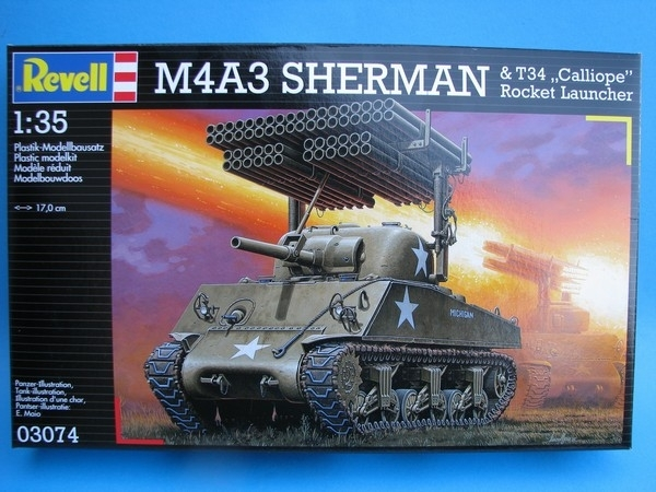Tank M4A3 Sherman 1:35 KIT Revell