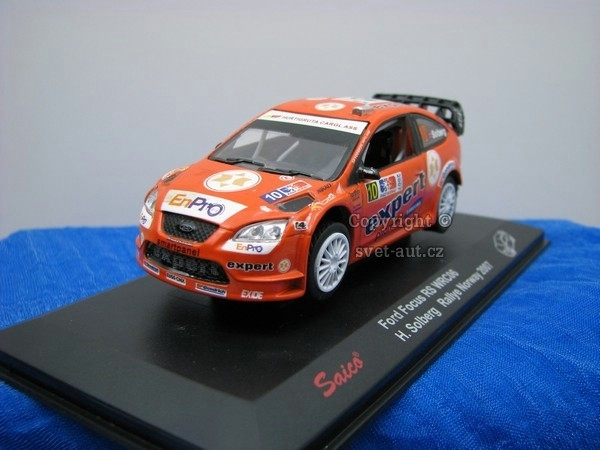 Ford Focus RS WRC06 Solberg No.10 Rally Norway 2007 1:43 Saico