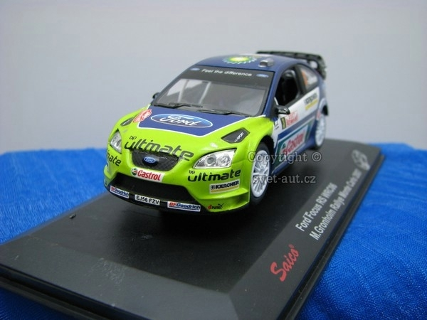 Ford Focus RS WRC06 Gronholm No.3 Rally MC 2007 1:43 Saico