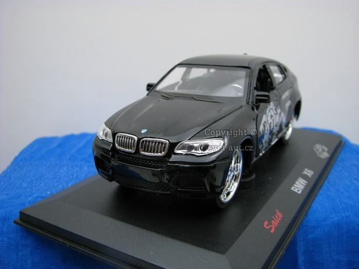 BMW X6 black Tuning 1:32 Saico