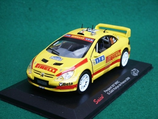 Peugeot 307 WRC 2006 No.25 Galli Rally France 1:32 Saico