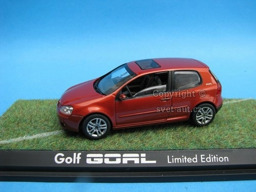 Volkswagen Golf Goal Limited edition 1:43 Schuco