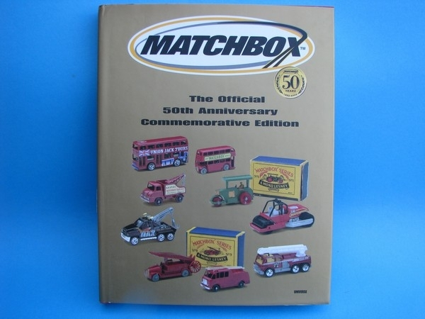 Kniha-Katalog 50Th Matchbox