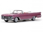 Oldsmobile 98 Open Convertible 1959 Burgundy Mist Metallic 1:18 Sunstar 5236