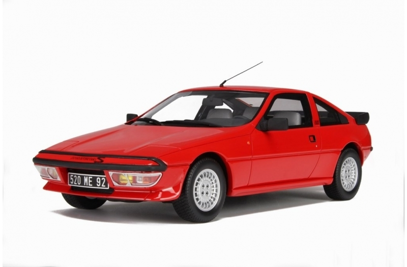 Talbot Matra Simca Murena S Red 1:18 Ottomobile