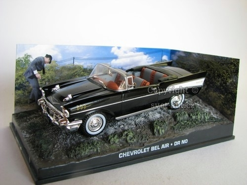 Chevrolet Bel Air DR NO James Bond 1:43 Universal Hobbies