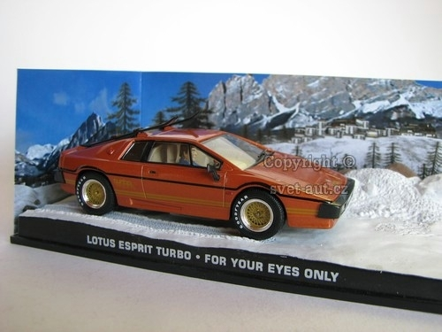 Lotus Esprit Turbo For your eyes only James Bond 007 1:43 Universal Hobbies