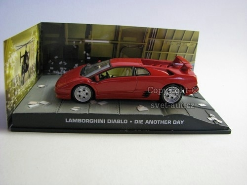 Lamborghini Diablo James Bond 007 1:43 Universal Hobbies