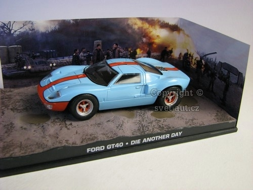 Ford GT40 James Bond 007 1:43 Universal Hobbies