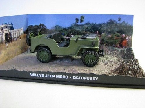 Jeep Willys M606 Octopussy James Bond 007 1:43 Universal Hobbies