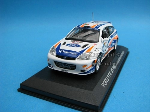 Ford Focus WRC Rally Portugal 2001 1:43 Ixo Altaya