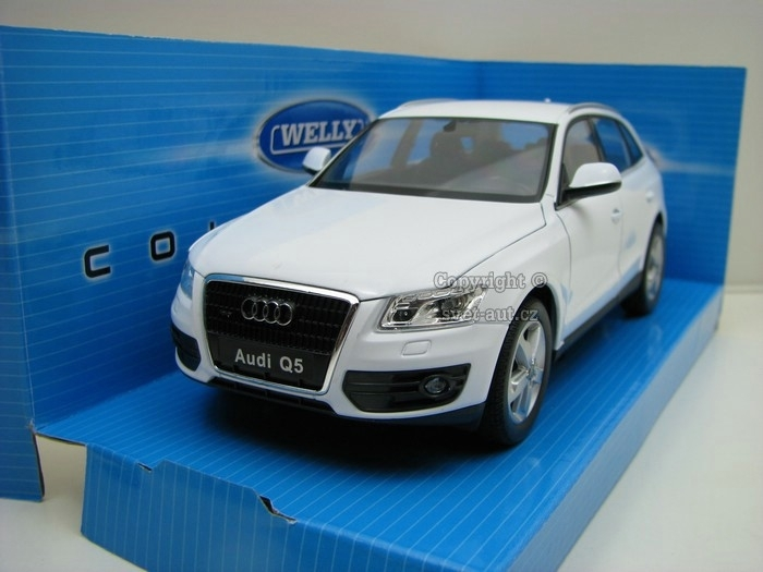 Audi Q5 White 1:24 Welly