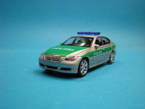 BMW 330i Polizei 1:43 Welly