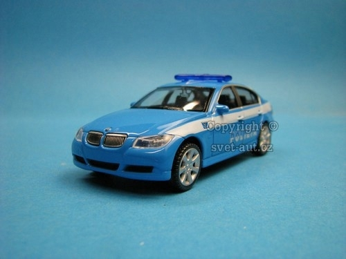 BMW 330i Polizia 1:43 Welly