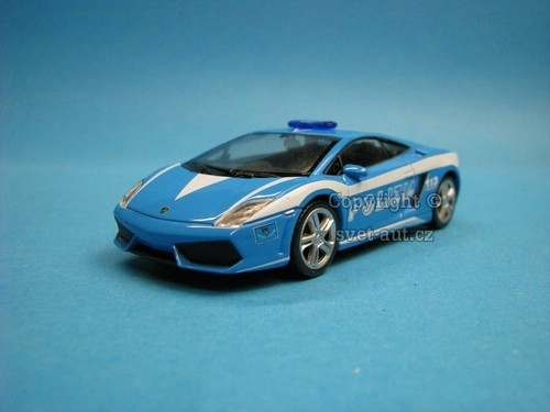 Lamborghini Gallardo LP560-4 Polizia 1:43 Welly