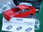 Mercedes-Benz C-class red Kit 1:36 Welly