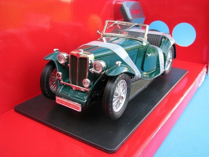 MG TC Midget 1947 green 1:18 Yatming