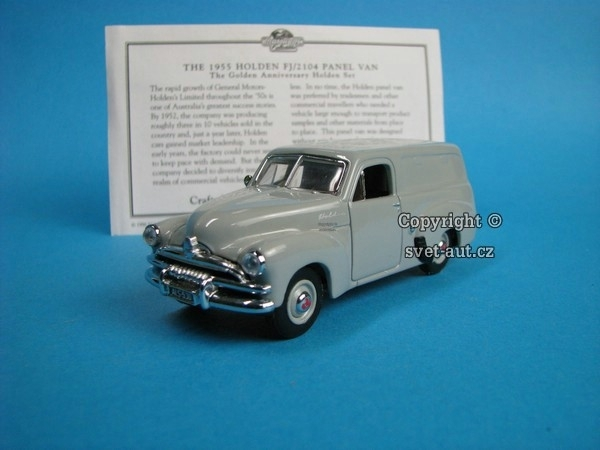 Holden FJ 2104 Panel Van 1955 1:43 Matchbox