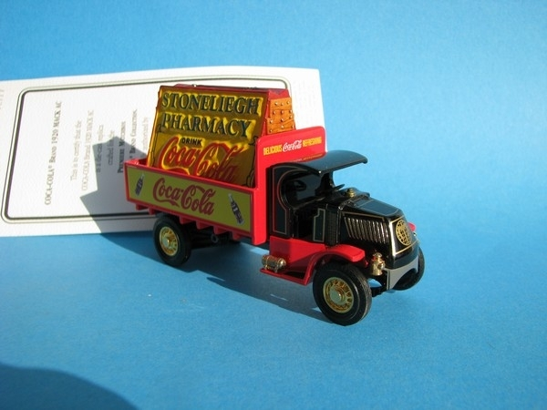 Mack AC 1920 Coca Cola Brand Matchbox Collectibles